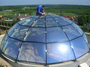Купол из молированного стекла