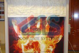 Противопожарные двери из алюминия