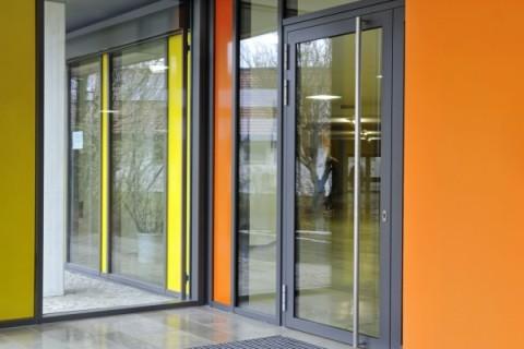 Алюминиевые двери всех видов