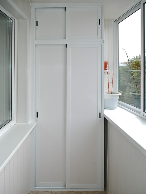 Шкаф на балкон - производство, продажа, недорого.