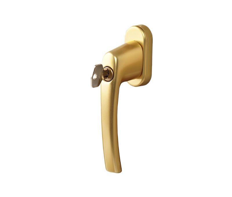 Ручка Рото с ключом золото