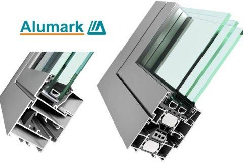 Алюминиевые окна и двери Alumark